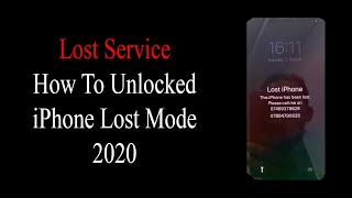 How to unlock lost mode iphone with owner number✔️ How to Lost iCloud Off✔️iCloud LOST MODE Unlocked