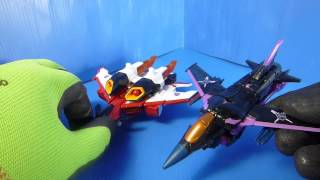 felzbug Reviews Generations Armada Starscream Jet mode