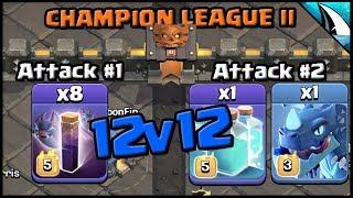 *STILL OP* Bat Spell & Electrone 12v12 in CWL (Clan War League) | Clash of Clans
