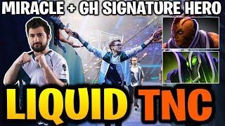 MIRACLE ANTIMAGE & GH-GOD RUBICK! LIQUID vs TNC TI9 Dota 2