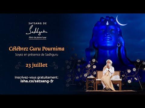 Guru Purnima 2021 en direct avec Sadhguru Guru Purnima 2021 en direct avec Sadhguru