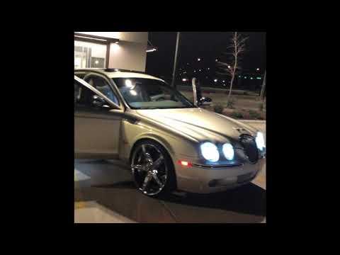 Jaguar s type review inside and outside on custom wheels