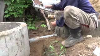 Простая канализация на участке с высоким уровнем подземных вод.Часть 2.