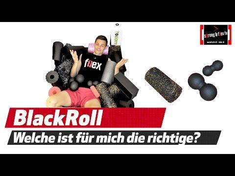 Blackroll - Welche ist für wen die RICHTIGE