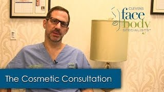 Dr. Clevens on the Cosmetic Consultation