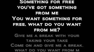 Thanks for Nothing Dope lyrics