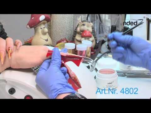 Der pzr-Test auf gribok der Nägel in spb