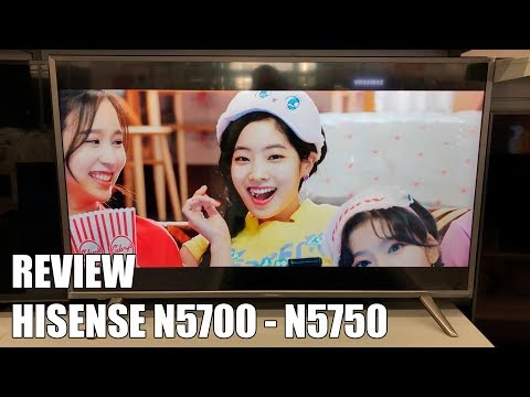 Review Hisense N5700 - N5750 Nueva Television 4K UHD HDR Smart TV 2018