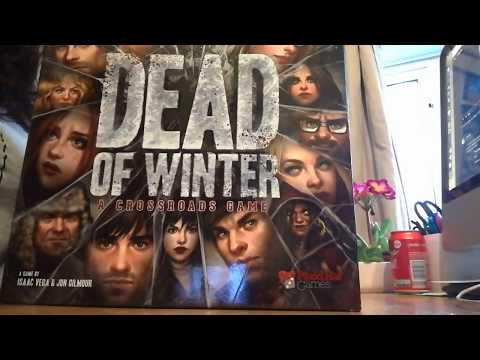 Dead Of Winter Unboxing Part 1