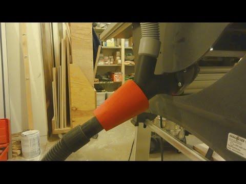 Make a shop vac adapter