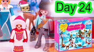 Playmobil Holiday Christmas Advent Calendar Day 24 Cookie Swirl C Toy Surprise Video