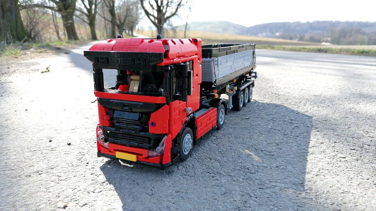 LEGO TECHNIC Farm Tractor with Dump Trailer