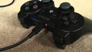 PS3 controller not charging?  try this