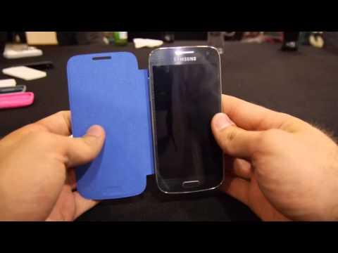 Samsung Galaxy S4 Mini Flip Cover Colour Choice Hands On