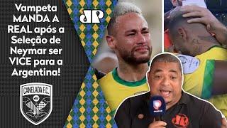 'O Neymar chorou que nem criança!' Vampeta manda a real após vice da Seleção!