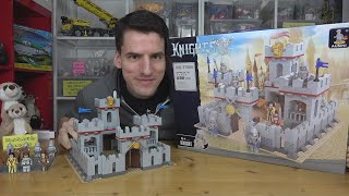 Für die schmale Mark eine ganz einfache Burg: Ausini® 27906 Ritterburg
