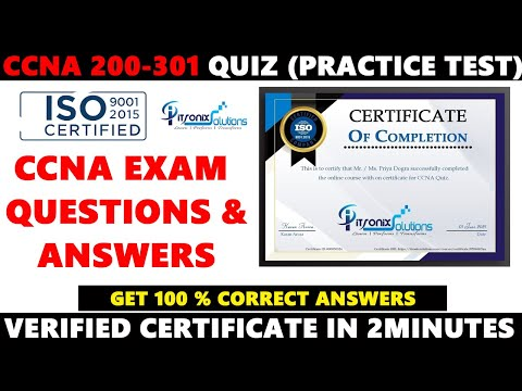 CCNA Quiz | CCNA Exam Questions and Answers