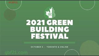 SBC's 2021 Green Building Festival – Onsite & Online