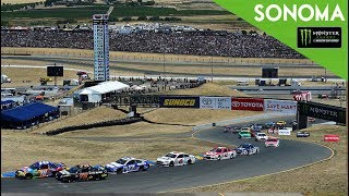 Monster Energy NASCAR Cup Series- Full Race -Toyota / Save Mart 350 - dooclip.me