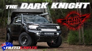 THE DARK KNIGHT (2019 Ford Ranger Build) - Wheels, Tyres, 4x4 Accessories & More!