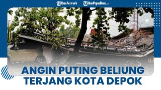 Angin Puting Beliung Terjang Kota Depok, DPKP Terima 29 Laporan Pohon Tumbang dan Baliho Roboh
