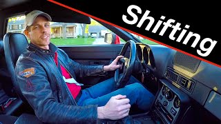 Racing driver's stick shift tips for everyday driving
