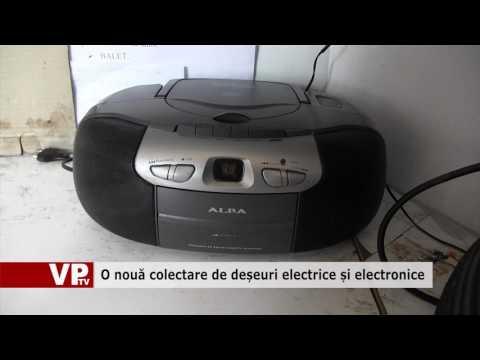 O nouă colectare de deșeuri electrice și electronice