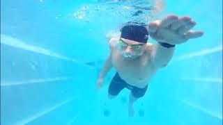 Concord-7000 6,9*2,3*1,6 SWIMWAVE плавательный спа Конкорд с противотоком FRF от компании Comfort SPA - бассейны и СПА бассейны, комплектация зон отдыха - видео