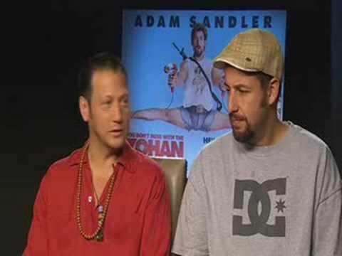 Adam Sandler and Rob Schneider