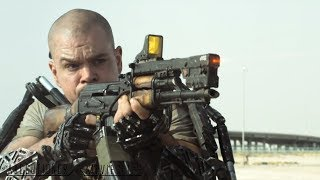 Elysium |2013| All Fight Scenes [Edited]