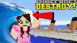 IS THAT THE TITANIC?!? DESTROY IT!!!