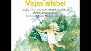 Lena anderson Majas alfabet Music