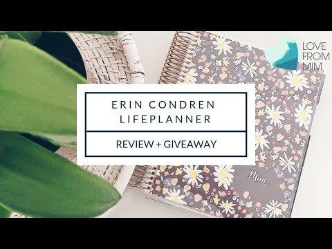 Erin Condren LifePlanner Review 2019 Unboxing   lovefrommim.com
