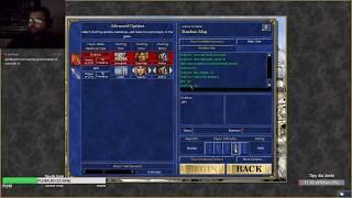 Heroes 3 HotA: PvP vs Cheater z 3 Graalami (Drakkar) - Jebus Cross