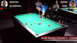 09 August 2015 Donovan vs Zander (2nd Division)