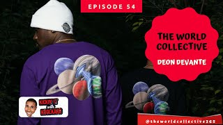 Interview With Deon Devante from The World Collective Clothing Brand | Kickin' It With KoolKard Show