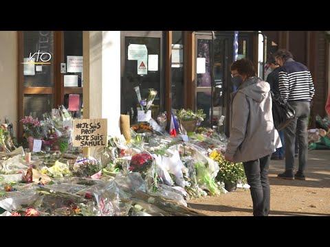 Les chrétiens en prière face à l'attentat de Conflans-Sainte-Honorine