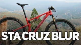 Primeiras impressões da Santa Cruz Blur - MTB Full de 9.9kg | Revista Ride Bike