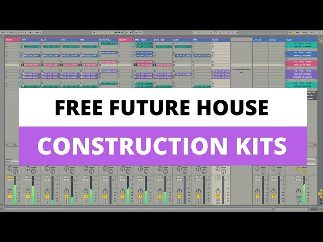 Producing Future House in Live 9 - Free Tutorial & Construction Kits