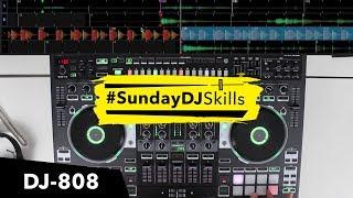Roland DJ 808 – An Acapella 4 Decks and the TR-S Drums – #SundayDJSkills
