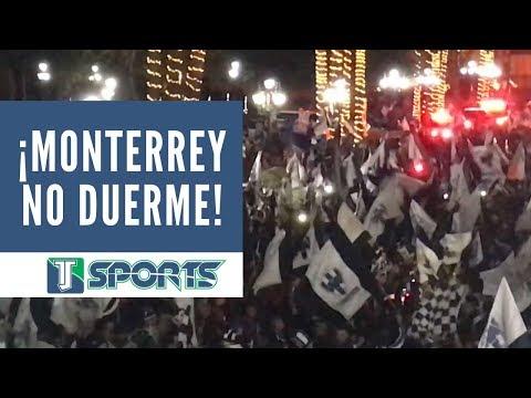 """""""¡MONTERREY ESTÁ DE FIESTA!; Festejos por el título de Rayados"""" Barra: La Adicción • Club: Monterrey"""