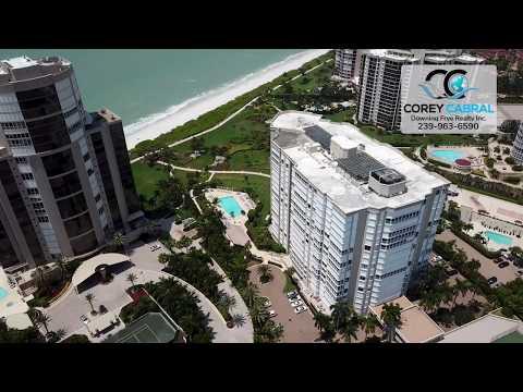Park Shore Monaco Beach Club Real Estate Flyover in Naples, Florida