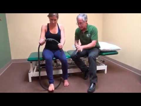 טיפול בכף הרגל בעזרת ה-MyoTool