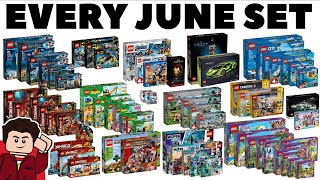 EVERY LEGO Set Releasing June 2020