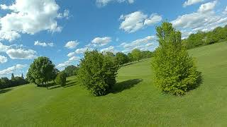 FPV Golf Course - DJI Digital FPV - GEPRC Rocket