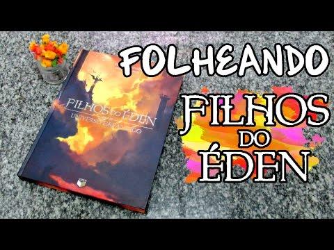 FOLHEANDO: Filhos do Éden - Universo Expandido (Eduardo Spohr)