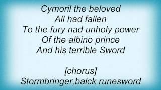 Domine - The Black Sword Lyrics