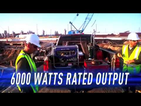 Yamaha EF5500D Generator in Eureka, California - Video 1