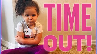 Disciplining your toddler or preschooler || The Time out Method