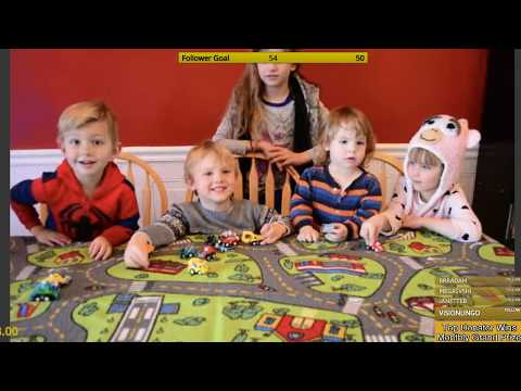 Mini Truck Toys. The Toy Experts are opening and reviewing toys. Free Giveaways on twitch